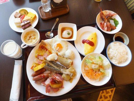Tokachigawaonsen Daiichi Hotel: 朝食バイキング。