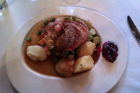Brasserie at the Swan Hotel Lavenham:                   christmas lunch