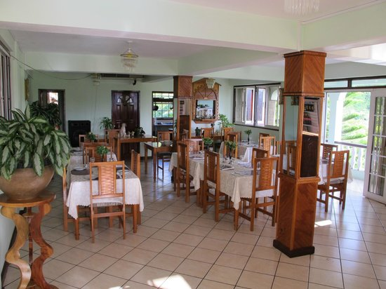 Carriacou Grand View:                   Dining room.