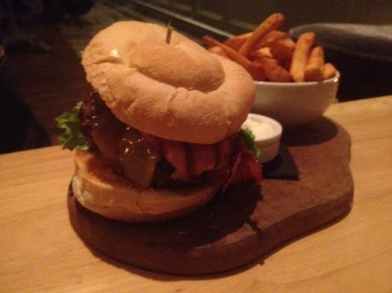 The Kings Head:                   burgers I dare you to finish. dieters beware!