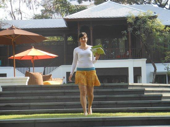 137 Pillars House:                   Garden