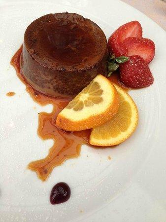 Antica Osteria del Porto: Bunet al cioccolato