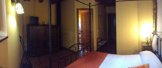 O Cabazo da curuxa: LUME, nuestra habitación más cálida. Al Sur.