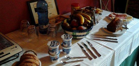O Cabazo da curuxa: Nuestro desayuno-buffet
