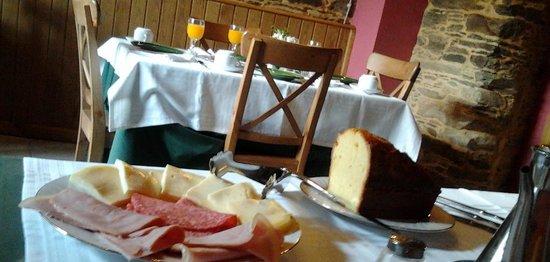 O Cabazo da curuxa: Comedor. Para desayuno y cenas