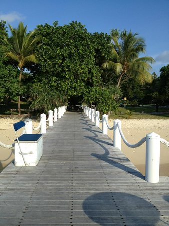 Bokissa Private Island Resort:                   Jetty
