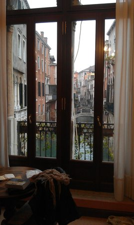 Hotel San Moise:                   View right from the bed
