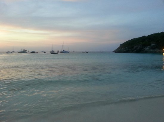 The Racha:                   gorgeous sunsets
