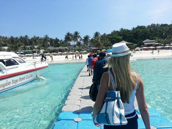 The Racha:                   Arrival pier