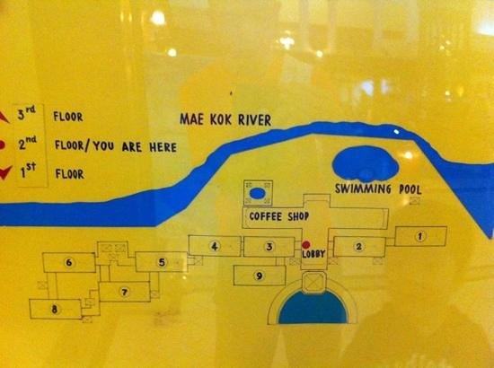 Wiang Indra Riverside Resort: Floor Map