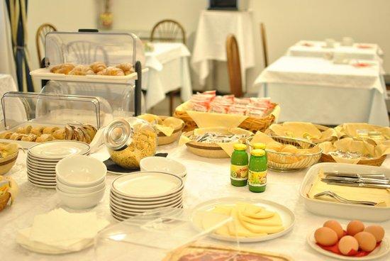 Hotel Ristorante Rometta : sala colazioni