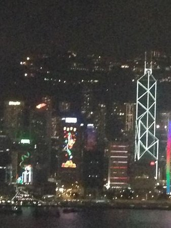 Wooloomooloo Prime (Tsim Sha Tsui):                   view from the terrace