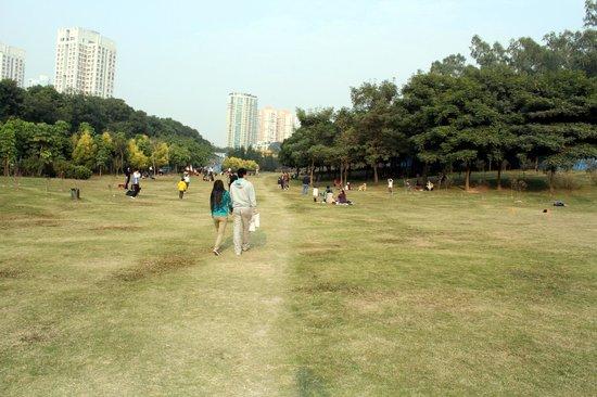 Bijiashan Park : Fra parken