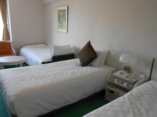 Tokyo Prince Hotel: トリプルにしたツインA