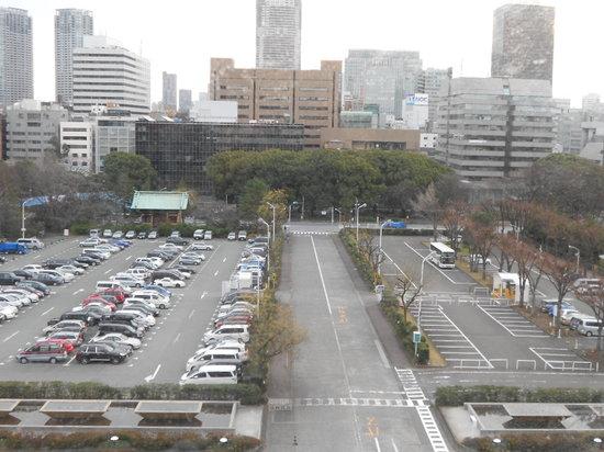 Tokyo Prince Hotel: 窓からの景色