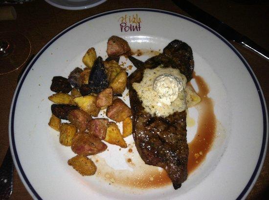 High Point Restaurant: Queen's New York Strip