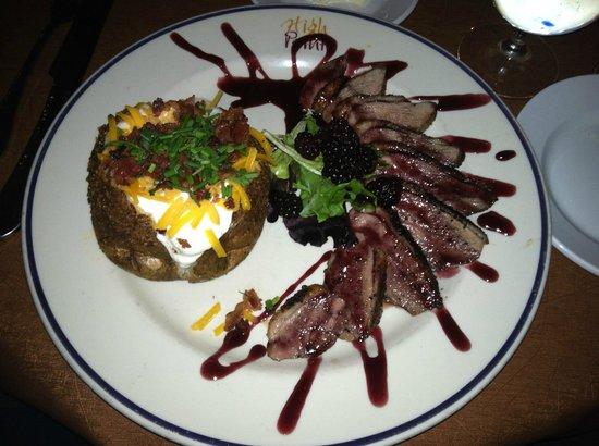 High Point Restaurant: Balckberry Duck Breast