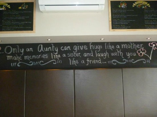 Ipswich, Australien: Only a Aunty can......