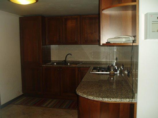 Hotel Caneva: cocina