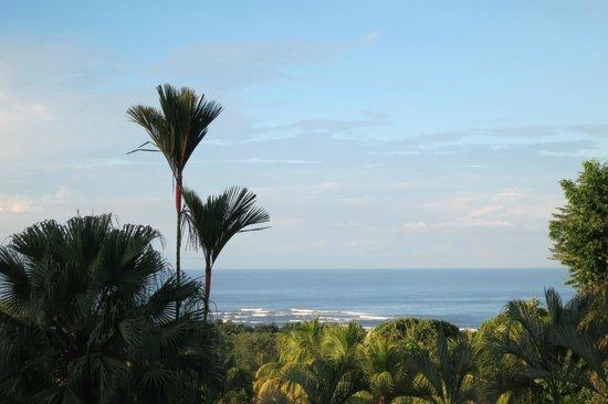Hotel Lookout at Playa Tortuga: lever du jour depuis notre bungalow