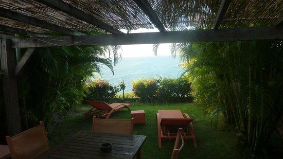 La Toubana Hotel & Spa: vue de notre bungalow