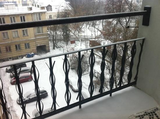 Fest Hostel:                   nossa varanda do nosso quarto