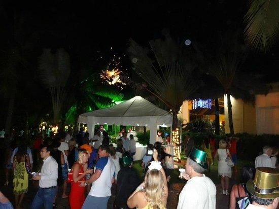 Caribe Club Princess Beach Resort & Spa: le feu d'artifice