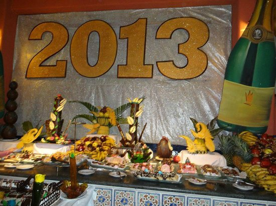 Caribe Club Princess Beach Resort & Spa: desserts reveillon