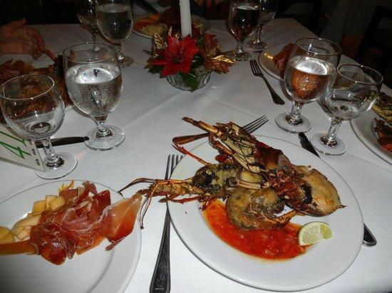 Caribe Club Princess Beach Resort & Spa: Repas du Nouvel AN !!!