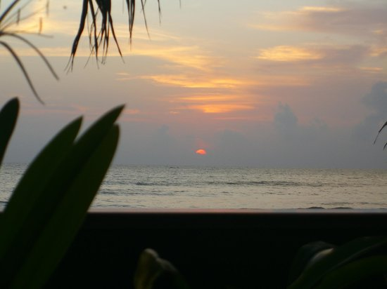 Sunset Beach Resort:                                     Sunset view from room
