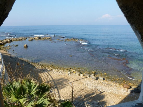 Al-Fanar Auberge: View from our room