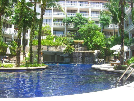Sunset Beach Resort:                                     Pool are
