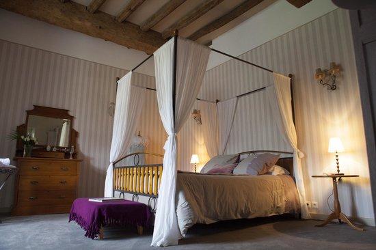 Manoir de Keringant : Chambre Guenièvre & Lancelot