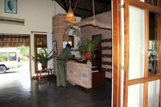 Moivaro Lodge:                   Reception Area