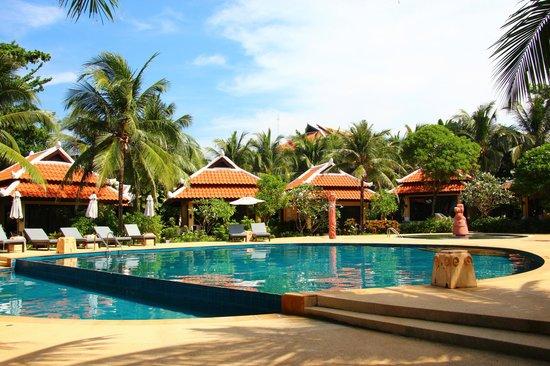 Ranyatavi Resort: Vue de la piscine