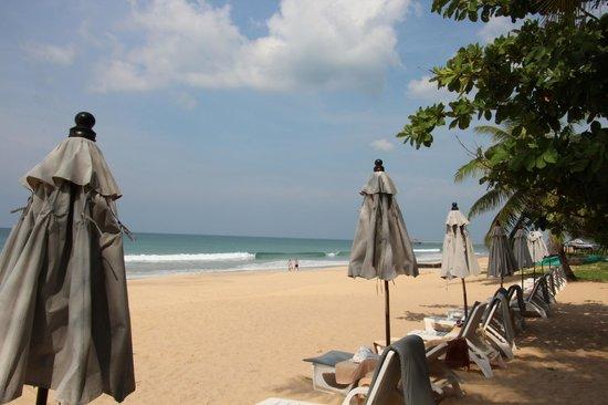 Ranyatavi Resort: La plage privée de l'hôtel