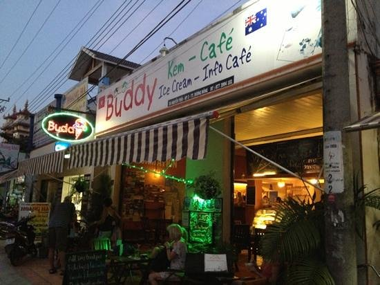Buddy Ice Cream & Info Cafe: outside view