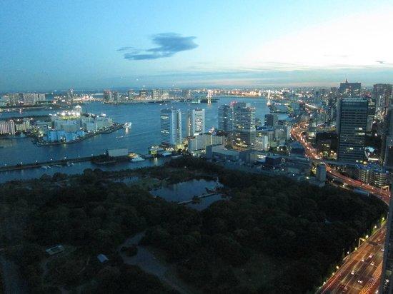 Conrad Tokyo: The view
