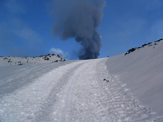 ‪لا جيارا: B&B Nicolosi_Etna Eruption‬