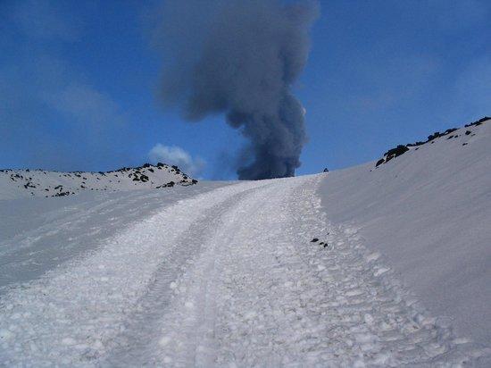 لا جيارا: B&B Nicolosi_Etna Eruption