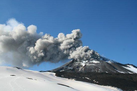 B&B La Giara: B&B Nicolosi_Eruzione cratere di Sud Est