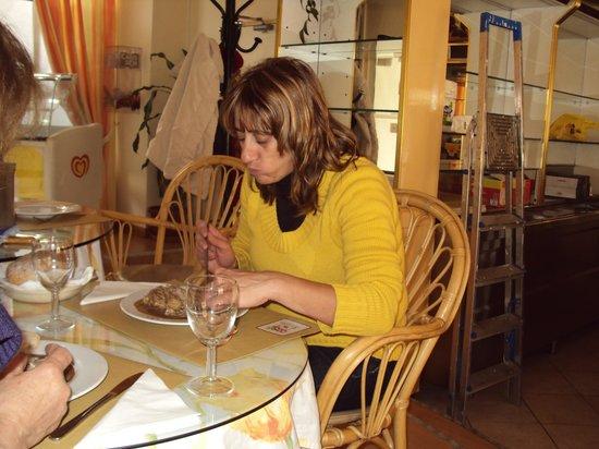 Petunia:                   A Isabel, a dona e fada da cozinha