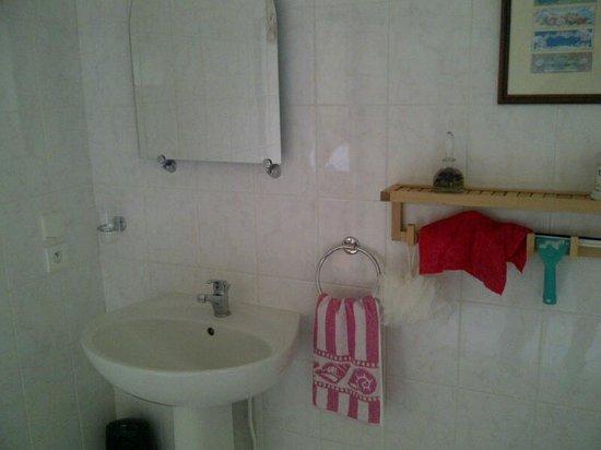 Le Logis des Quatre Puits : la salle de bain