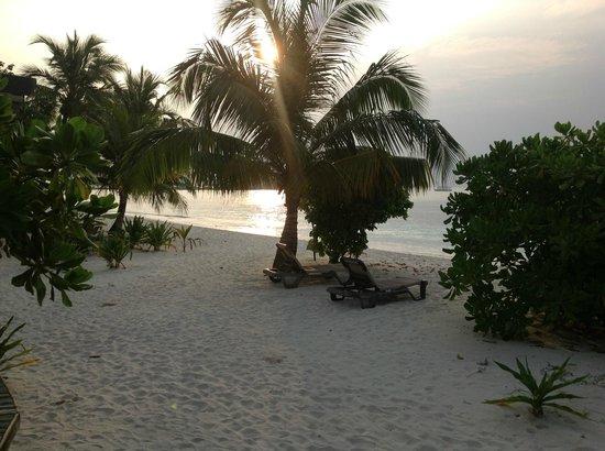 Kuredu Island Resort & Spa:                   Sun rise