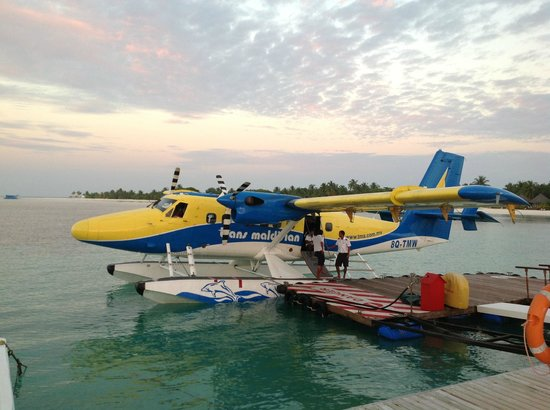 Kuredu Island Resort & Spa:                   TMA Seaplane