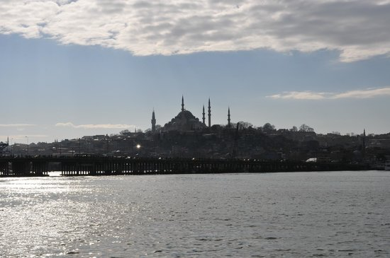 Osmanhan Hotel:                   View from the Bosphorus