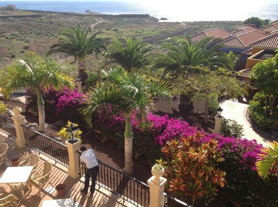 Bahia Principe Costa Adeje: Vue sur les jardins de l'hôtel