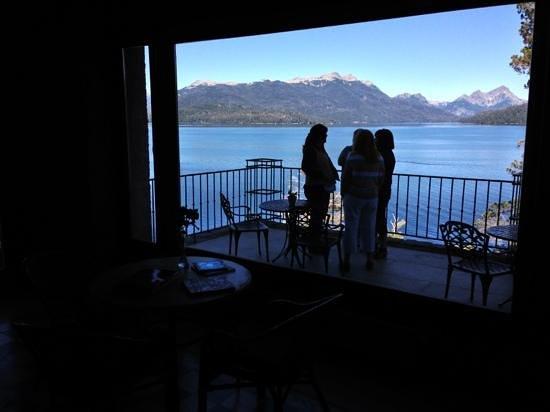 Luma Casa de Montana: vista desde la recepción