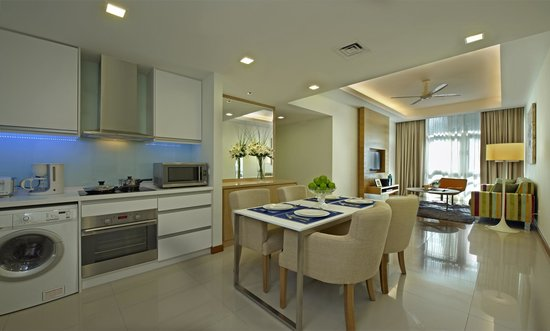 Fraser Place Kuala Lumpur: 2 Bedroom Deluxe with Terrace