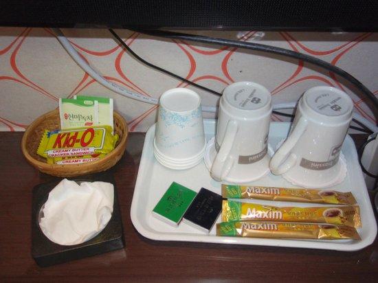 Hotel Parkway : お茶菓子